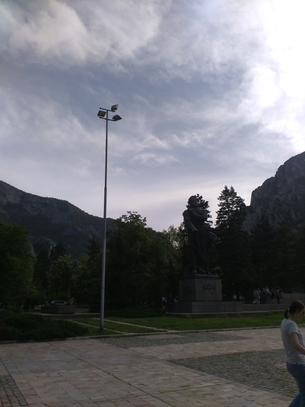 Botev's monument in Vratsa's center