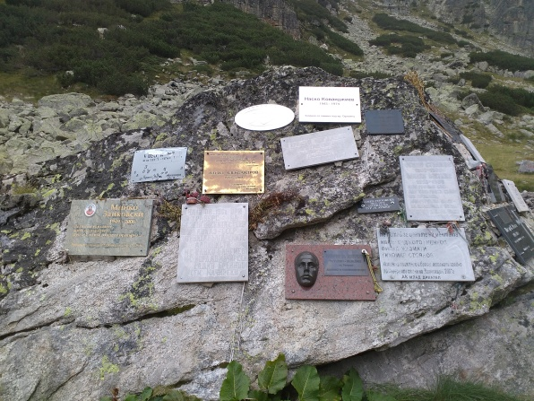 The alpinists' monument