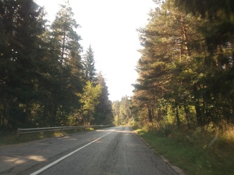 The road to Borovets is quite picturesque