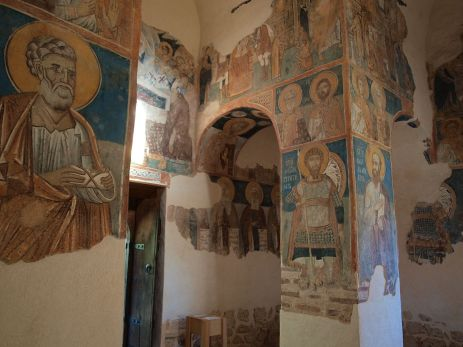 The famous frescoes. Picture is from Wikipedia