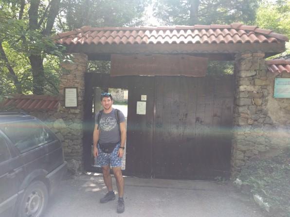 The monastery entrance